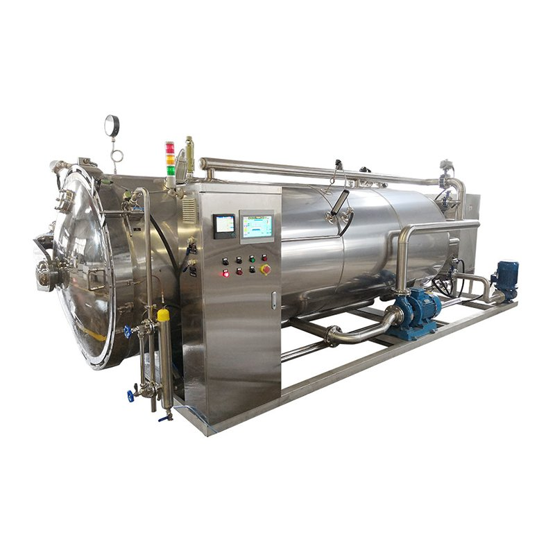 Single layer spray sterilization pot